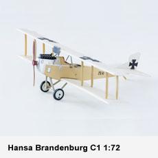 Hansa Brandenburg C1 1:72