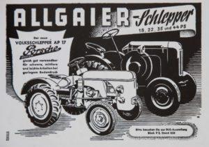 Allgier Schlepper System Porsche AP-17
