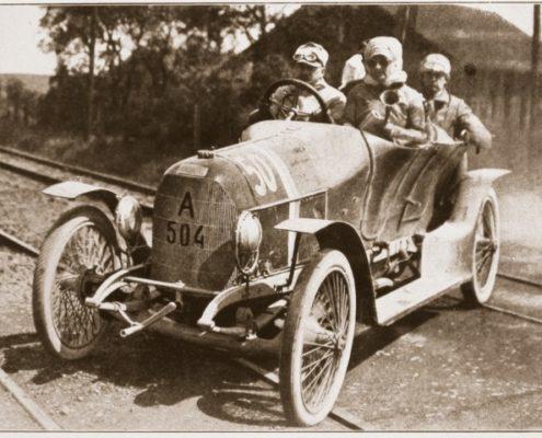 Prinz Heinrich Wagen 1910_Graf Orssich