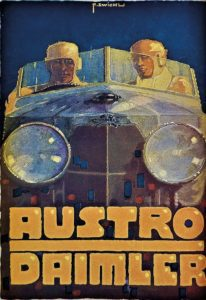 Austro-Daimler-Autowerbung